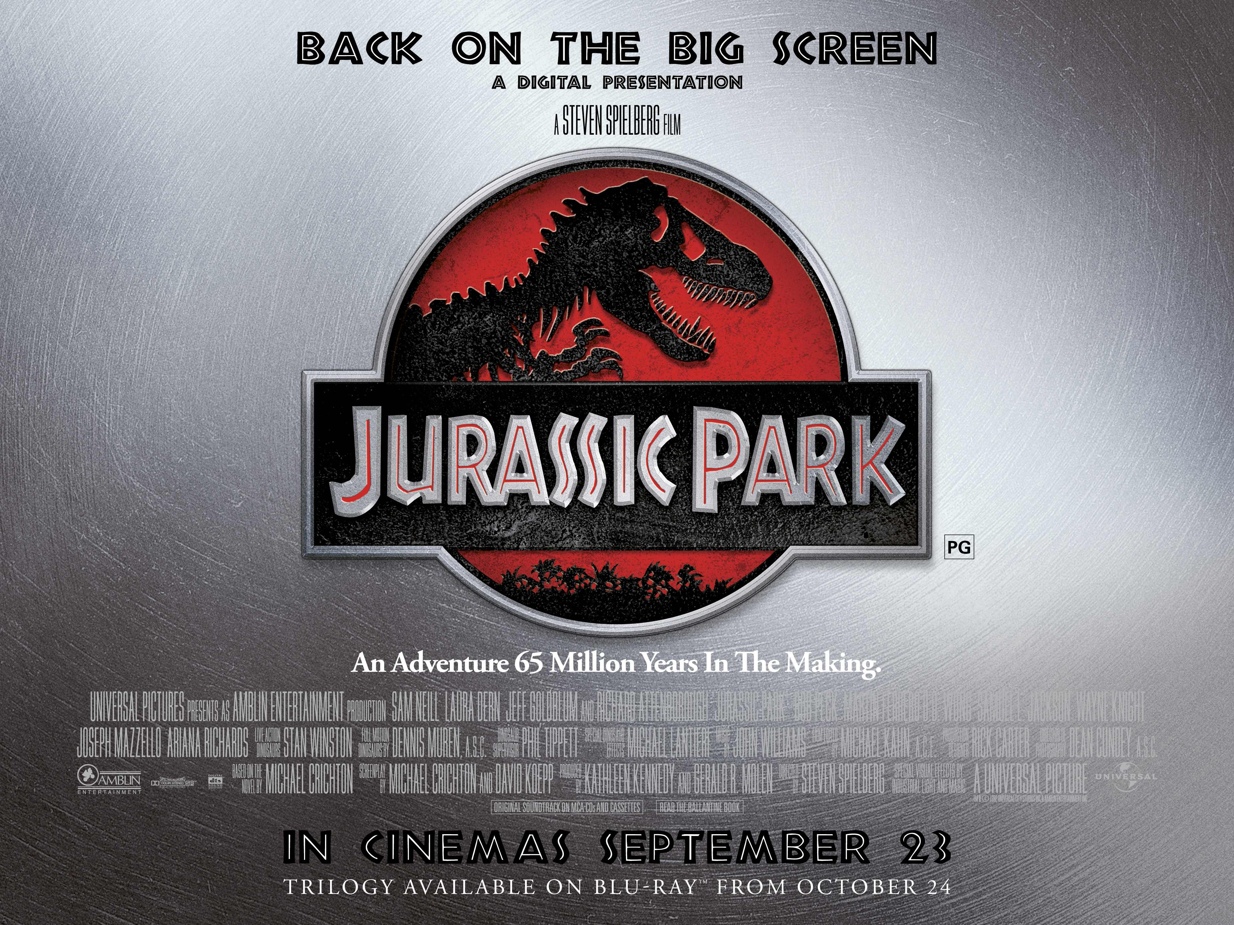 Movie Posters 2011: Jurassic Park Remastered Review