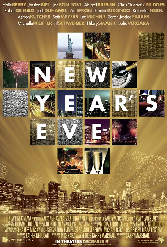new line cinema new year poster