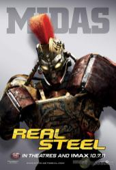Real Steel Poster - Midas