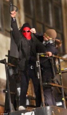 Andrew Garfield- The Amazing Spider-Man Set Costume
