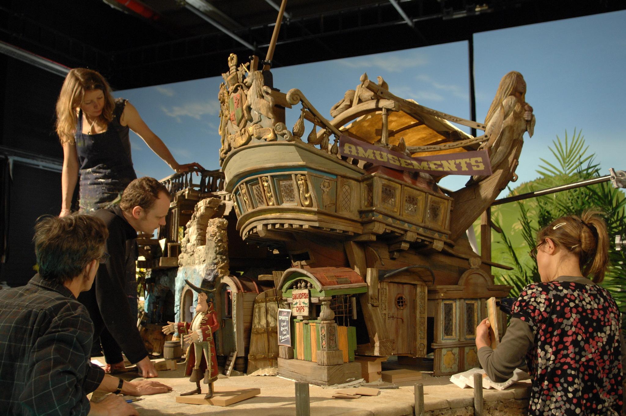 Aardman Set Visit The Pirates