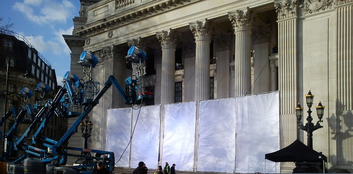 Skyfall - Set Photo London