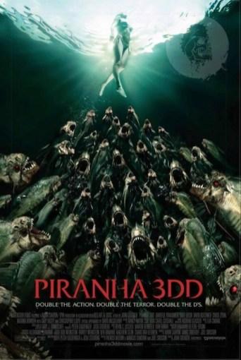 Piranha 3DD Poster Variant 1