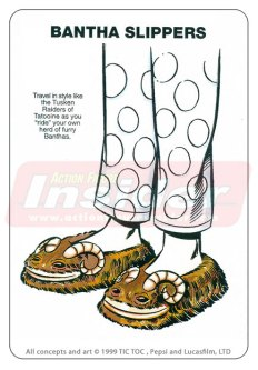 Star Wars Merchandise - Bantha Slippers