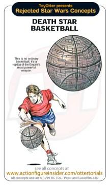 Star Wars Merchandise - Basketball