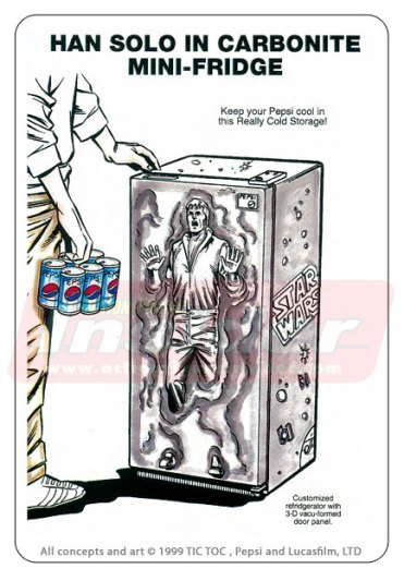 Star Wars Merchandise - Fridge