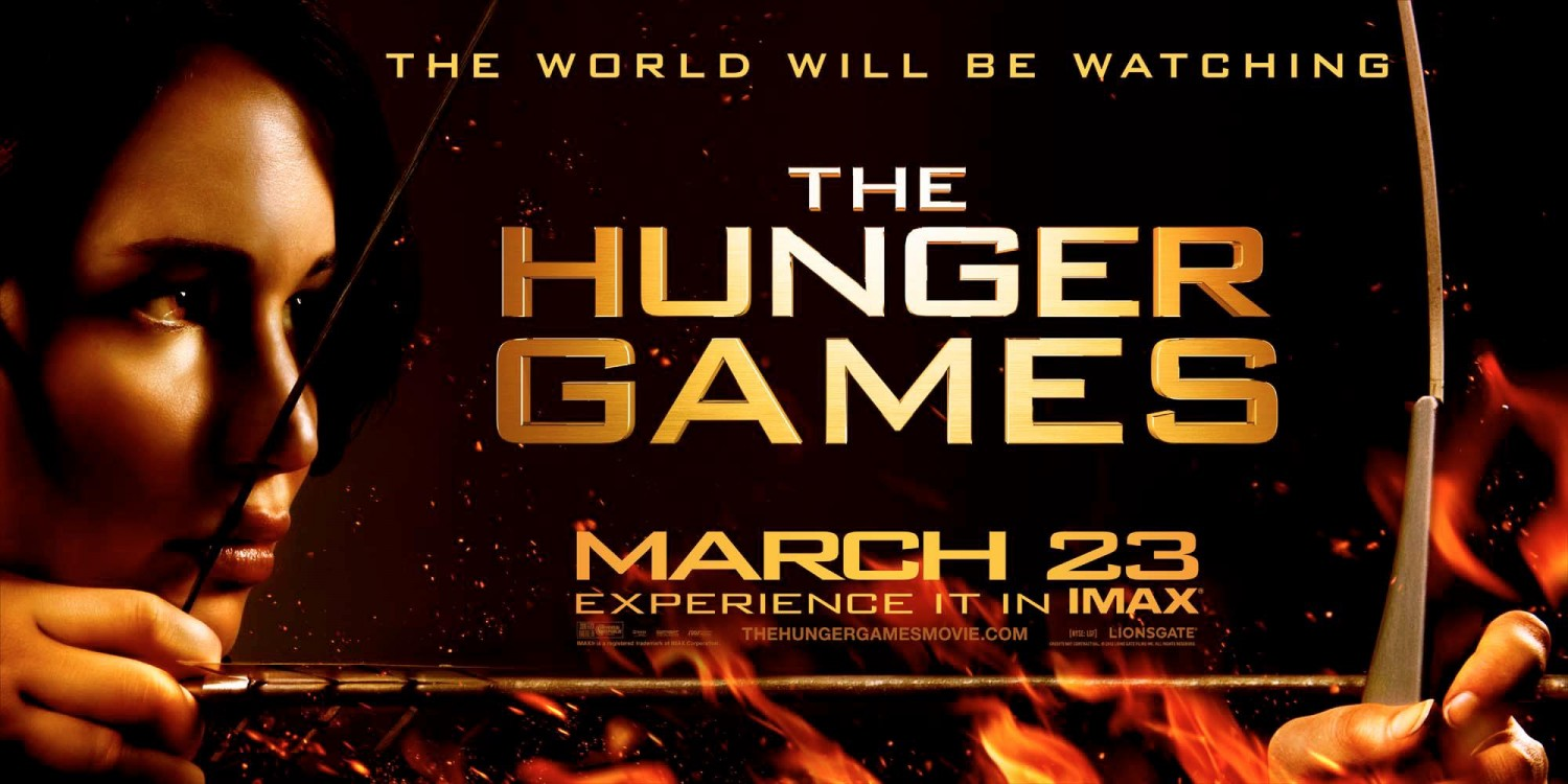 Image result for the hunger games film poster