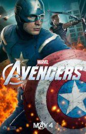 The Avengers Captain America poster