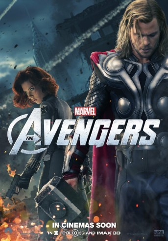 The Avengers Thor poster