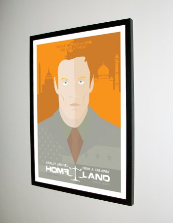 Homeland Poster - Dave Williams