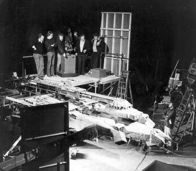 Ridley Scott on set of Alien 1