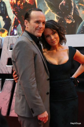 The Avengers European Premiere - Clark Gregg