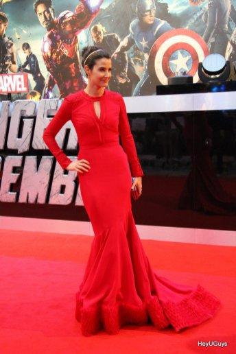 The Avengers European Premiere - Cobie Smulders