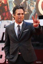 The Avengers European Premiere - Mark Ruffalo (Hulk)