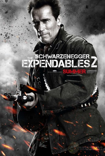The Expendables 2 Schwarzeneger