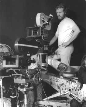ridley Scott on set of Alien