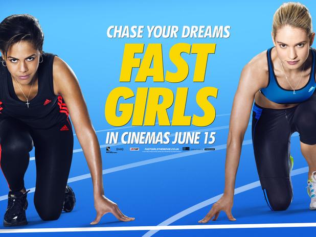 Fast Girls Set Visit