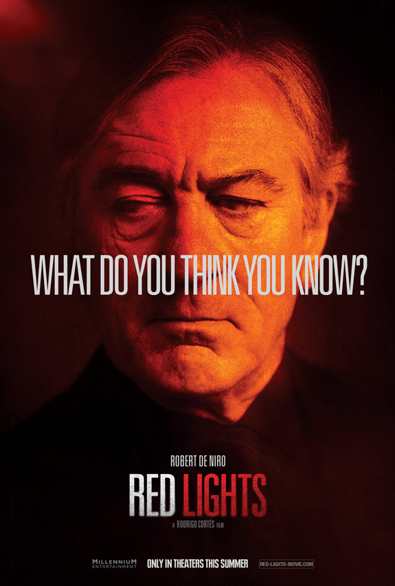 Red Lights character poster - Robert De Niro