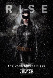 The Dark Knight Rises Poster - Catman