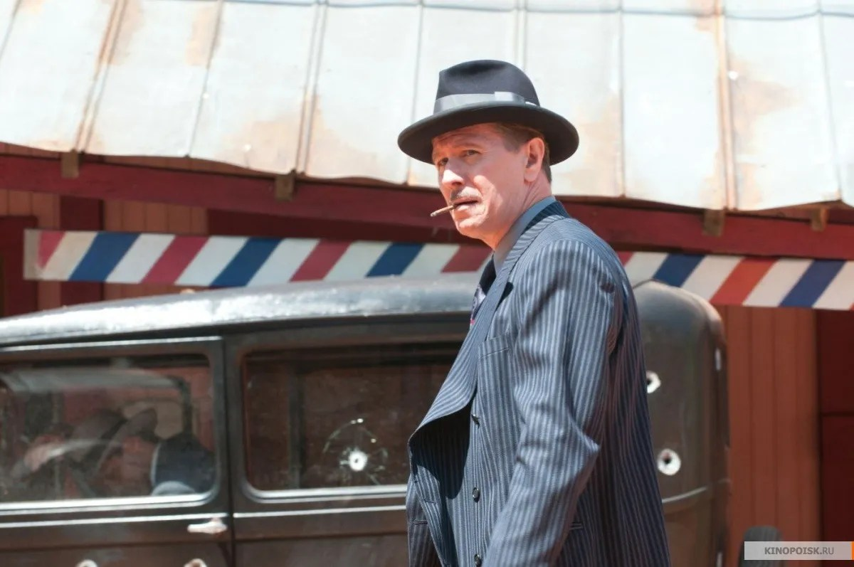 first image of gary oldman in lawless