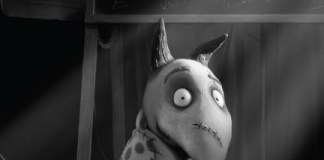 The Art of Frankenweenie Exhibition Poster