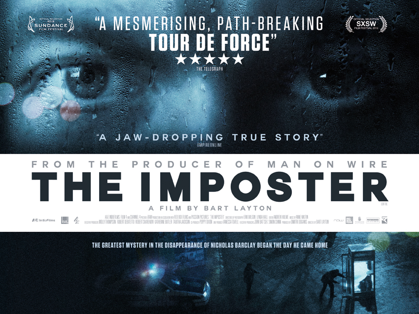 The Imposter Trailer and Poster