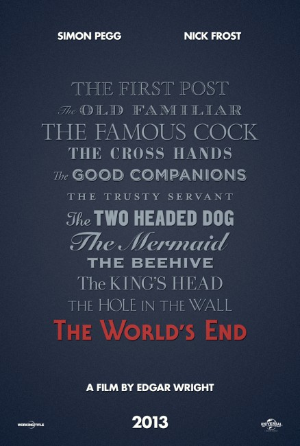 The Worlds End updated poster