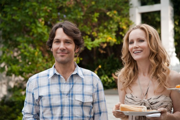 Paul Rudd and Leslie Mann in This Is 40
