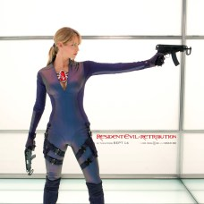 New Resident Evil: Retribution Character Banner