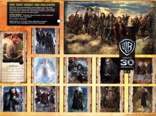 The Hobbit: An Unexpected Journey Calendar