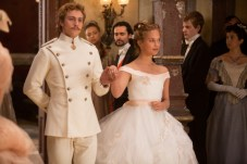 Aaron Taylor-Johnson and Alicia Vikander in Anna Karenina 3