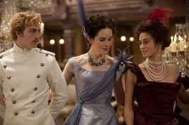 Aaron Taylor-Johnson and Keira Knightley in Anna Karenina 2