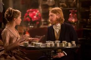 Alicia Vikander and Domhnall Gleeson in Anna Karenina