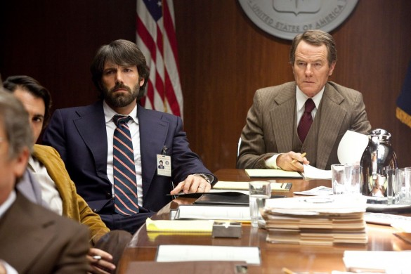 Ben Affleck and Bryan Cranston in Argo