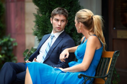 Chace Crawford and Blake Lively in Gossip Girl