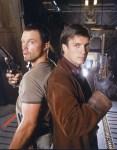 Firefly - Nathon Fillion and Adam Baldwin