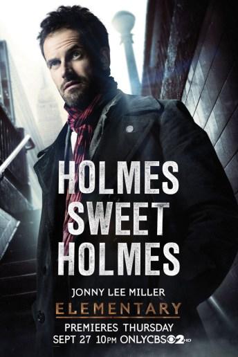 Jonny-Lee-Miler - Elementary Character Poster