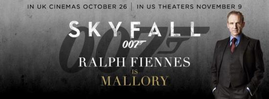 Skyfall Character Banner - Ralph Fiennes