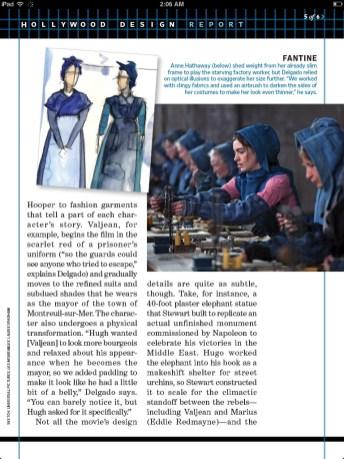 Anne Hathaway in Les Misérables scan