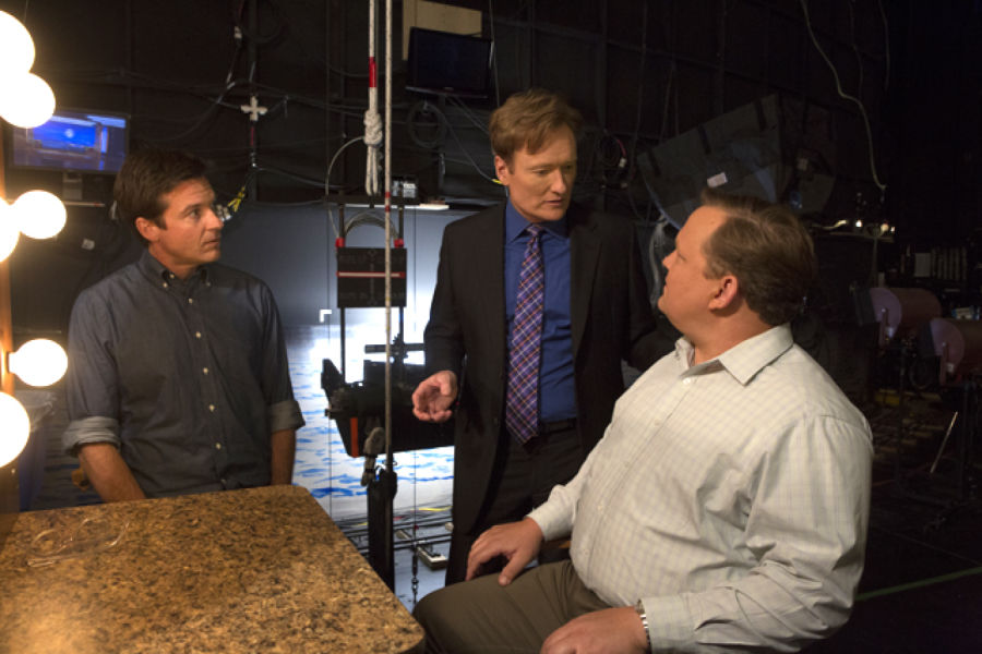 Jason Bateman, Conan O'Brien and Andy Richter in Arrested Development Season 4