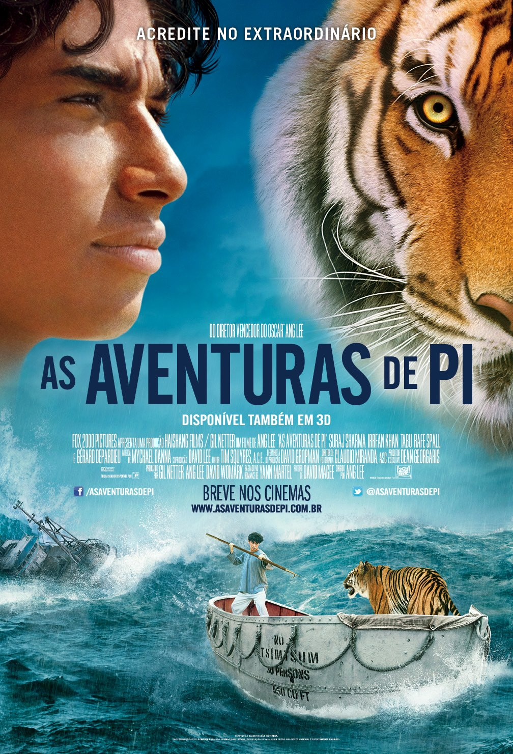 a short review of the life of pi a novel by yann martel Why yann martel's man booker prize-winning novel life of pi was  named  piscine molitor patel and a tiger the film is directed by ang lee.