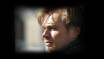 Christopher Nolan on set of The Dark Knight Rises
