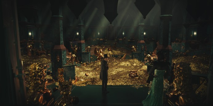 James Franco and Rachel Weisz in Oz: The Great and Powerful