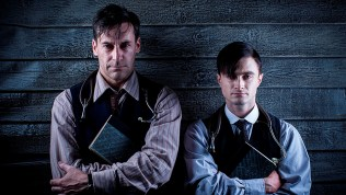 Jon-Hamm-and-Daniel-Radcliffe-in-A-Young-Doctor's-Notebook