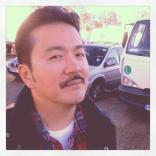 Justin Lin celebrating Movember on set of Fast and Furious 6