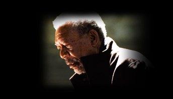 Morgan Freeman in The Dark Knight Rises