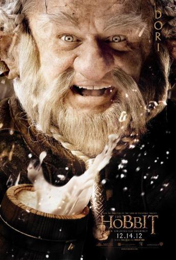 The Hobbit: An Unexpected Journey Character Poster – Dori