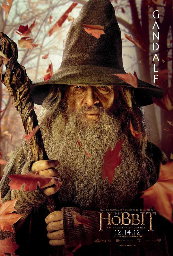The Hobbit: An Unexpected Journey Character Poster – Gandalf