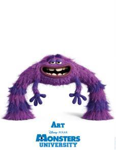Monsters-University-Character-Poster-Art