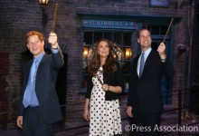 Royals with Wands